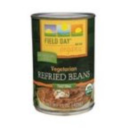 Field Day Organic Vegetarian Refried Beans, 15 Oz
