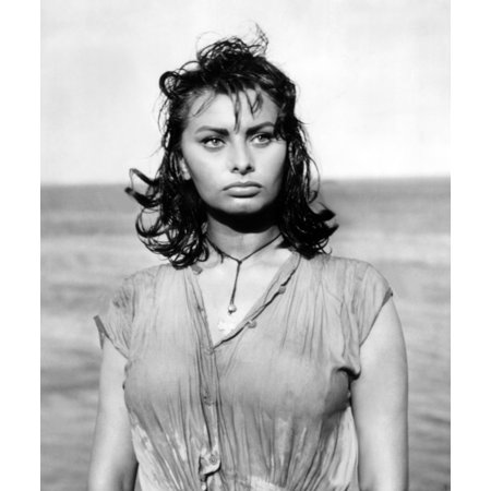 5be3ba6f2 Boy On A Dolphin Sophia Loren 1957 Tm And Copyright 20Th Century Fox Film  Corp All Rights Reserved Courtesy Everett Collection Photo Print