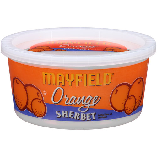 Mayfield Orange Sherbet, 1 qt