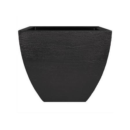 Modern Masters Plaster - Tusco Modern Square Planter, 20-Inch