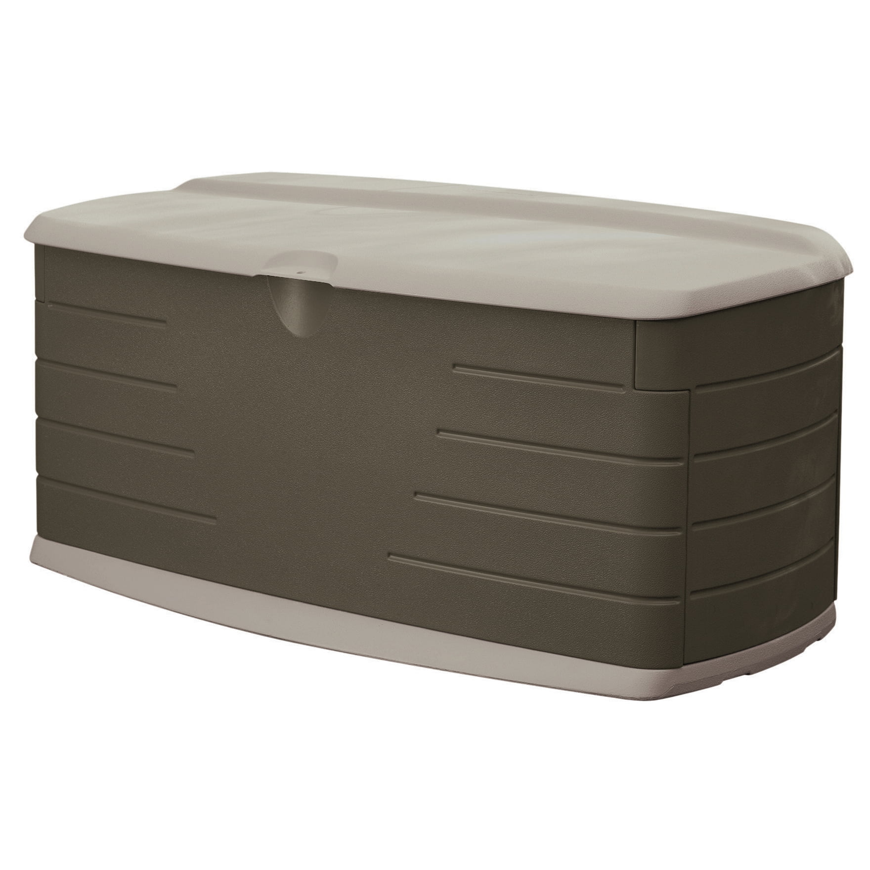 Rubbermaid Large Deck Box with Seat, 90 Gallon Capacity by Rubbermaid Home Products