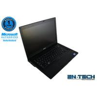 """Dell Latitude E6410 14.1"""" Standard Refurbished Laptop - Intel Core i7 640M 1st Gen 2.8 GHz 8GB SODIMM DDR3 SATA 2.5"""" 500GB HDD DVD-RW Windows 10 Pro 64-Bit"""