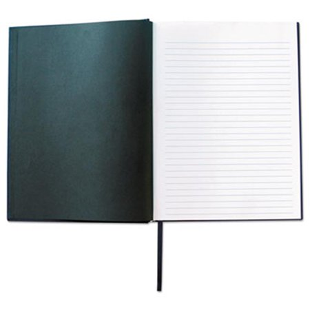 Universal Office Products UNV66353 Linen Bound Notebook, Black - image 1 of 1