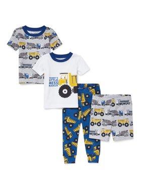 35b1bd8b1d2d Toddler Boys One-piece Pajamas - Walmart.com