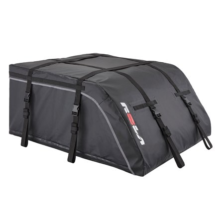 Rola 59318 Cargo Carrier Escape 13 to 16 Cubic Foot Capacity; 42 Inch x 36 Inch x 18 to 24-1/2 Inch; Side Opening; Lockable; Black With Rola Logo; Vinyl - image 1 of 1