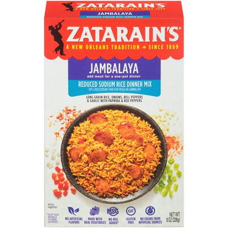 Zatarain's Reduced Sodium Jambalaya, 8 oz