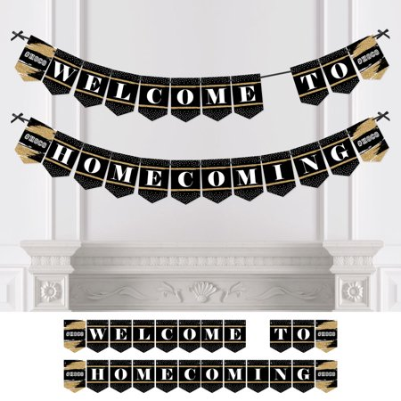 Homecoming Banners (HOCO Dance - Homecoming Bunting Banner - Party Decorations - Welcome to)