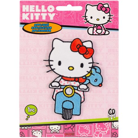 C&D Visionary Hello Kitty Patch-Hello Kitty Scooter - image 2 de 2