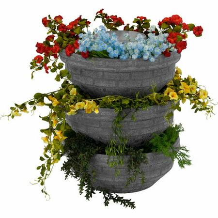 English Composting Garden, Light Granite, 3-Pack