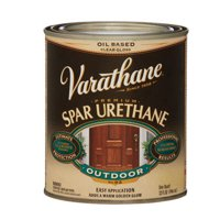 Varathane Clear Gloss 1 qt. Oil Based Spar Urethane Clear - Case Of: 2