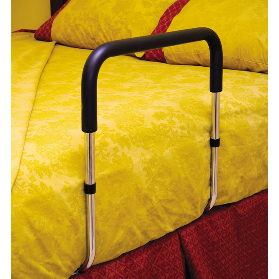 Height Adjustable Hand Bed Rail for Home Beds with Pouch