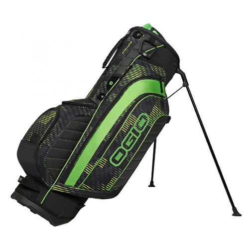 New Ogio Vapor Stand Bag - Buzz Saw Green