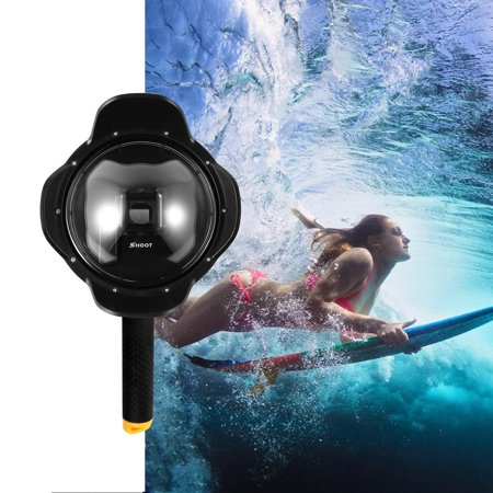 Underwater Lens Hood  6inch Dome Lens Dome Port for Hero 3+/4 Camera Underwater Photography (Underwater Lens Port)