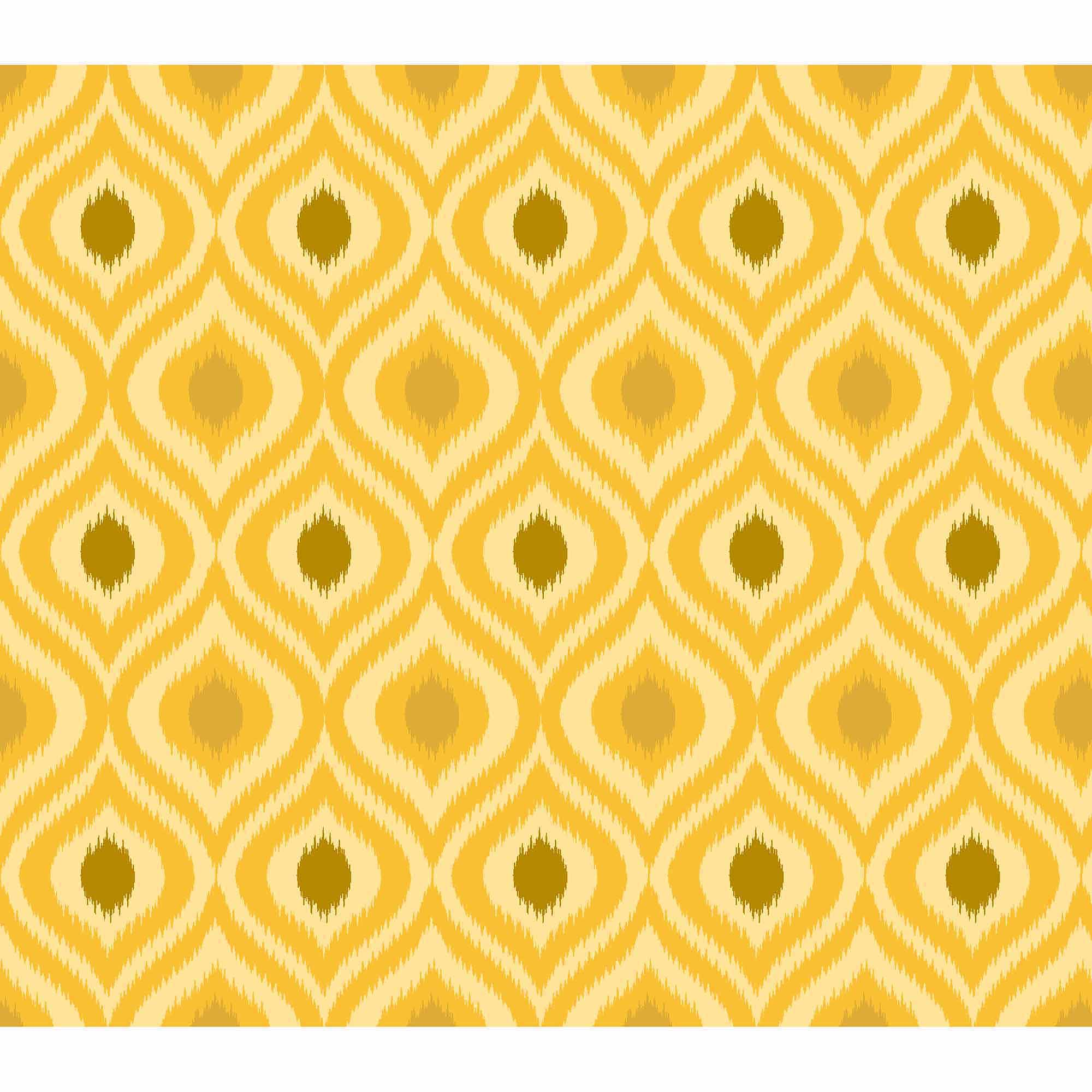 Springs Creative Cotton Blenders Tonal Ikat, Golden Yellow, Fabric by the Yard