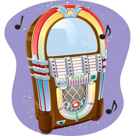 2 Sided Decoration (CD-188033 - Jukebox Two Sided Decoration by Carson Dellosa )