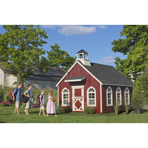 Little Cottage Company Stratford Schoolhouse Playhouse