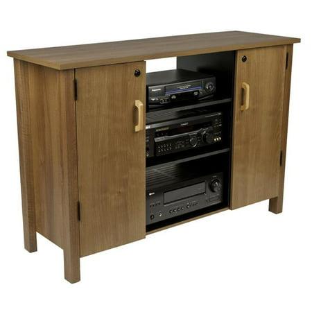 Venture Horizon 2365-33OA 32.38 x 47.25 x 15.75 in. Multi-Media Av Cabinet - Oak
