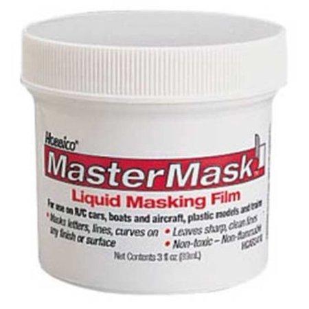 Smiley Film Mask (Hobbico Master Mask Liquid Mask)