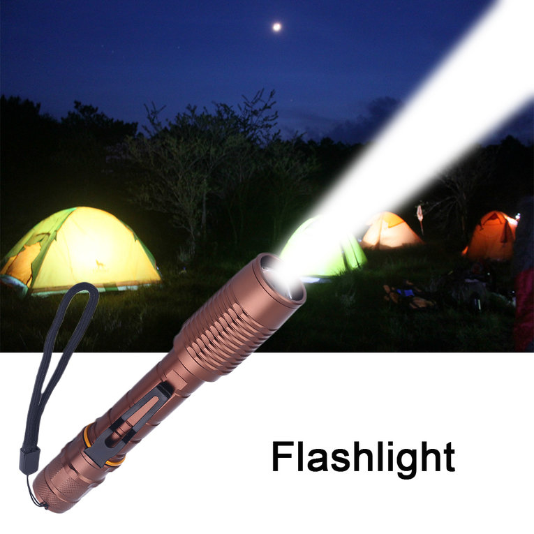 Hot Sale Super Bright 8000 Lumen Zoomable Waterproof C-XML T6 LED 18650 Focus Torch Lamp Adjustable Flashlight