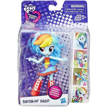 My Little Pony Equestria Girls Minis School Dance Rainbow Dash (My Little Pony Rainbow)