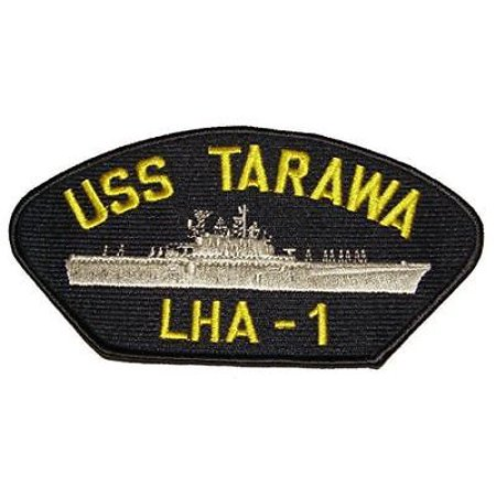 USS TARAWA LHA-1 PATCH USN NAVY SHIP AMPHIBIOUS ASSAULT EAGLE SEA KICKIN CHICKEN