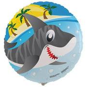 "Sharks 18"" Foil Balloon"
