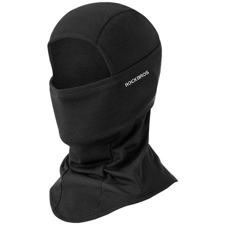 Winter Cycling Full Face Mask Windproof Fleece Balaclava Cycling Hood Liner Skiing Snowboarding Shield Helmet Liner