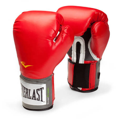 Everlast Pro Style Boxing Gloves, 16oz, Red