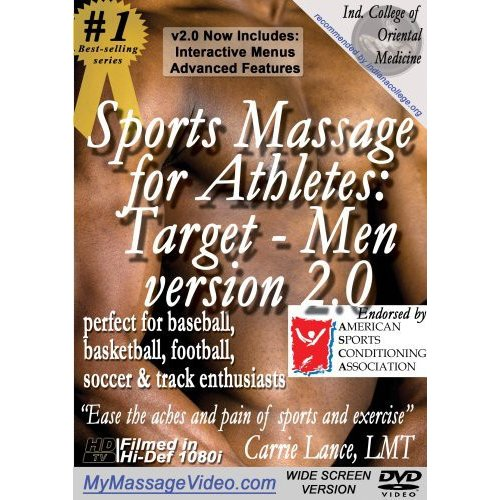 Sports Massage for Athletes: Target Men version 2.0perfect for Baseball, Basketball, Football, Soccer & Track by Victory Multimedia