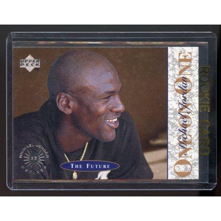 Upper Deck Future Stars - 1995 Upper Deck #10 One on One Michael Jordan The Future White Sox Rookie Card