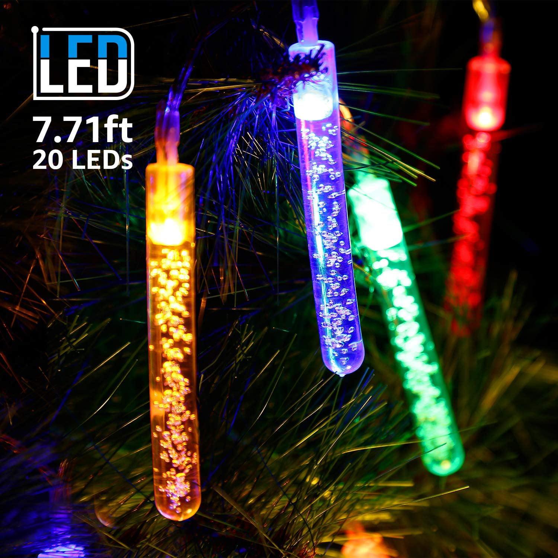 torchstar led starry christmas string light indoor decoration bubble string lights decorative. Black Bedroom Furniture Sets. Home Design Ideas