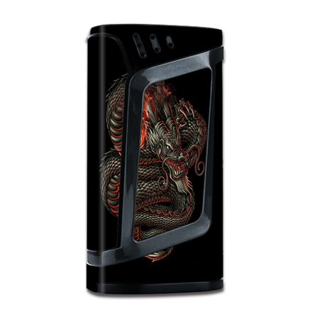 Skins Decals For Smok Alien 220W Tc W/Grip-Guard / Dragon Snake Serpant