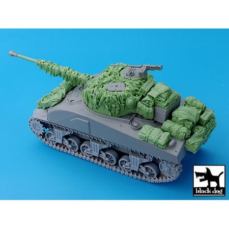 Black Dog 1:35 Sherman Firefly Hessian Tape Camo Net & Accessories Dragon  T35028