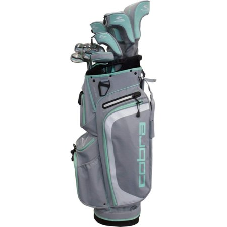 Cobra Golf Women's XL Complete Set Silver-Mint RH ()