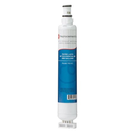 - Commercial Water Distributing RB-W2 Refrigerator Filter for Kitchenaid 4396701, EDR6D1 & Filter6