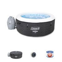 "Coleman 71"" x 26"" Cali AirJet Saluspa Inflatable Hot Tub with EnergySense Liner, 2-4 Person"