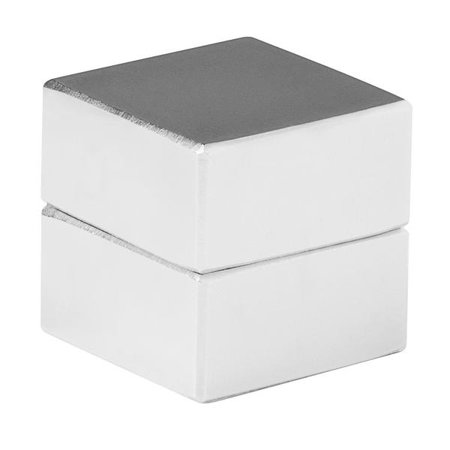 Large Magnets (totalElement 1 x 1 x 1/2 Inch Neodymium Rare Earth Large Block Magnets N48 (2)