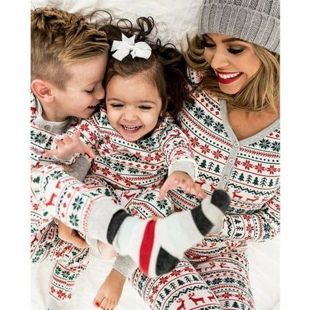 Lavaport Family Matching Christmas Pajamas Set Sleepwear ()