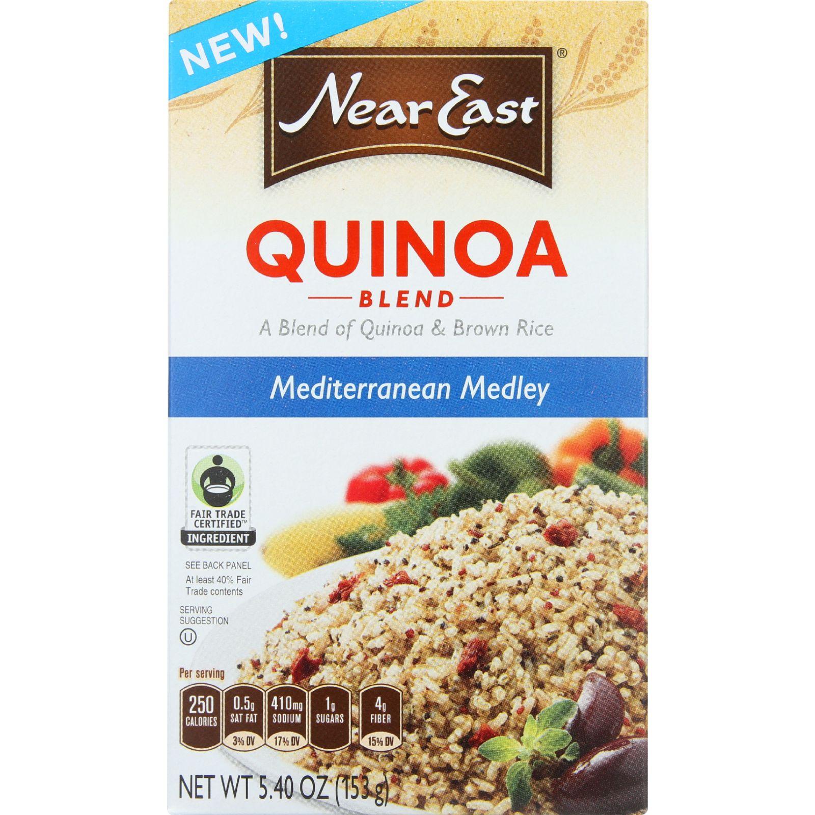 Near East Quinoa Blend - Mediterranean Medley - 5.4 oz - Pack of 12