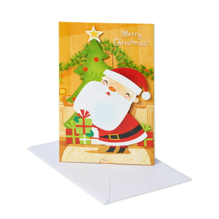 American Greetings Pop-up Santa Claus Christmas Greeting Card with Music ()