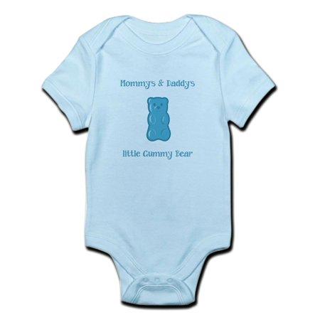 02a7f9c15 CafePress - CafePress - Mommy's & Daddy's Little Gumm Infant Bodysuit - Baby  Light Bodysuit - Walmart.com