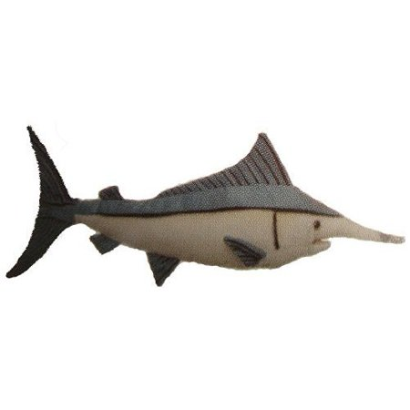"Blue Marlin Fish 10"" Plush Stuffed Animal Toy"