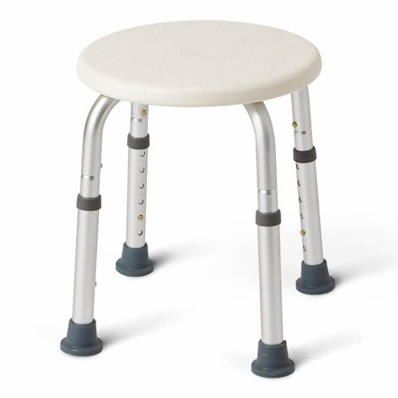 Swell Medline Round Shower Stool White Gmtry Best Dining Table And Chair Ideas Images Gmtryco