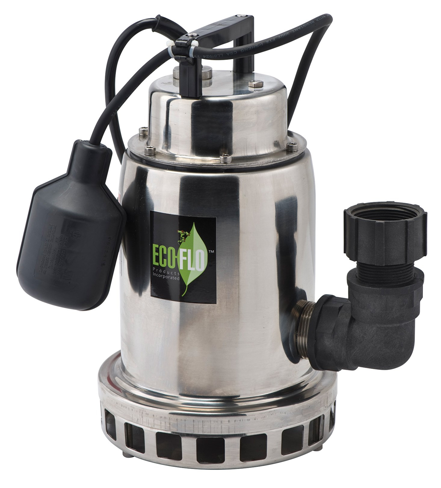 Eco Flo SEP50W 1/2 HP Stainless Steel Water Fountain Utility Pump