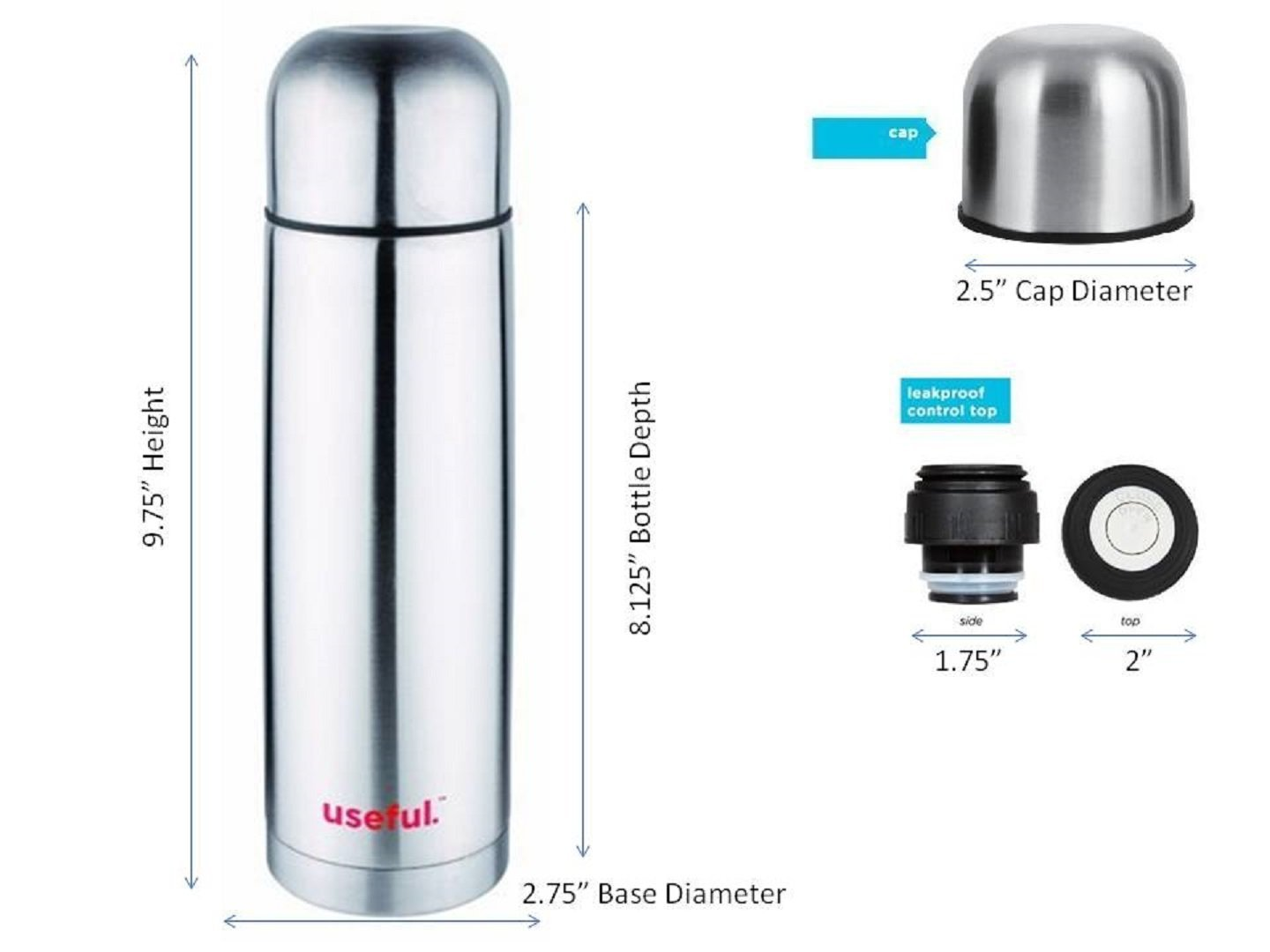 Thermos Stainless Steel Coffee Hot Or Cold