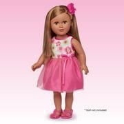 My Life As Pink Green Flower Dress