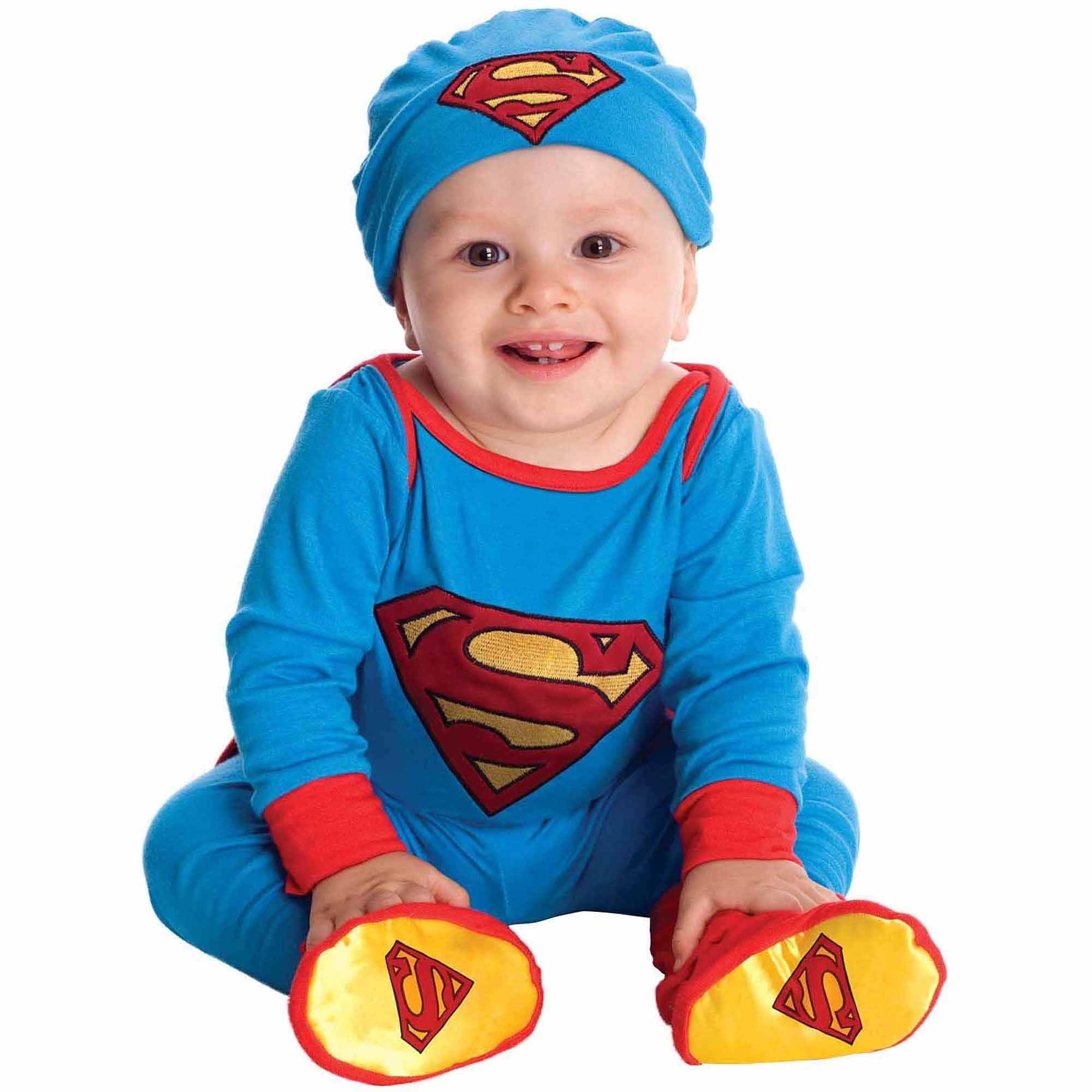 Superman Onesie Infant Halloween Costume