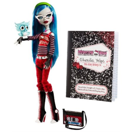 Monster High Ghoulia Yelps Doll with Pet Owl Sir Hoots A (Monster High Ghoulia Yelps Doll With Pet Owl)