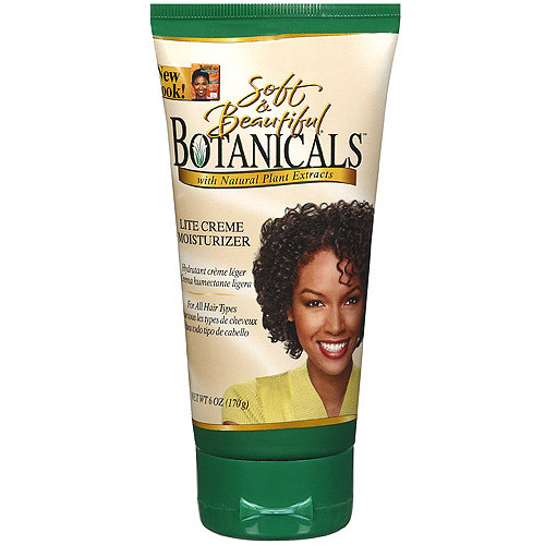 Soft & Beautiful Botanicals Light Creme Moisturizer, 6 oz