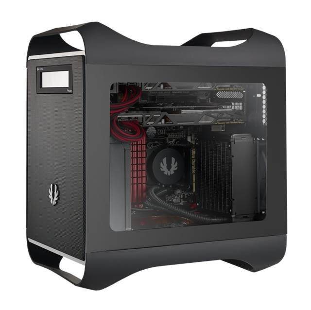 Bitfenix Prodigy M Window Bfc-prm-300-kkwsk-rp No Power Supply Microatx Case [black]